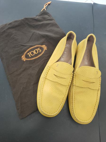 MOCASSINO TODS GIALLO TG 43 1/2